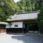 庄屋屋敷 加茂荘の長屋門