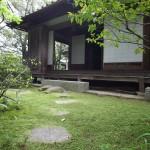 座敷奥の中庭