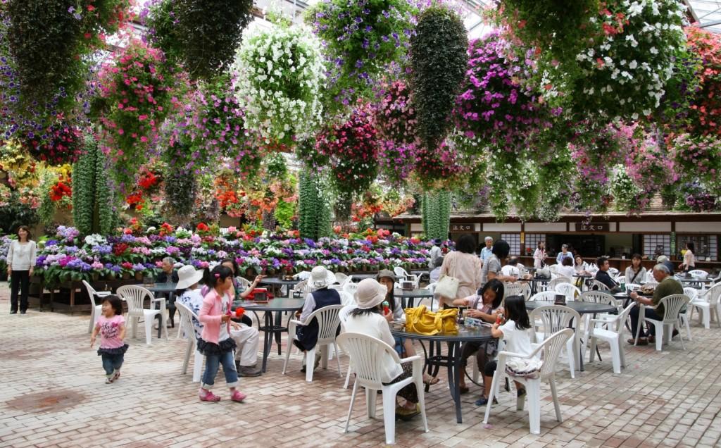 ④E1_園内の多目的温室内喫茶コーナー縮小③