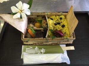 庄屋弁当とくちなしの花