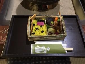 ②食と農(庄屋竹皮弁当)