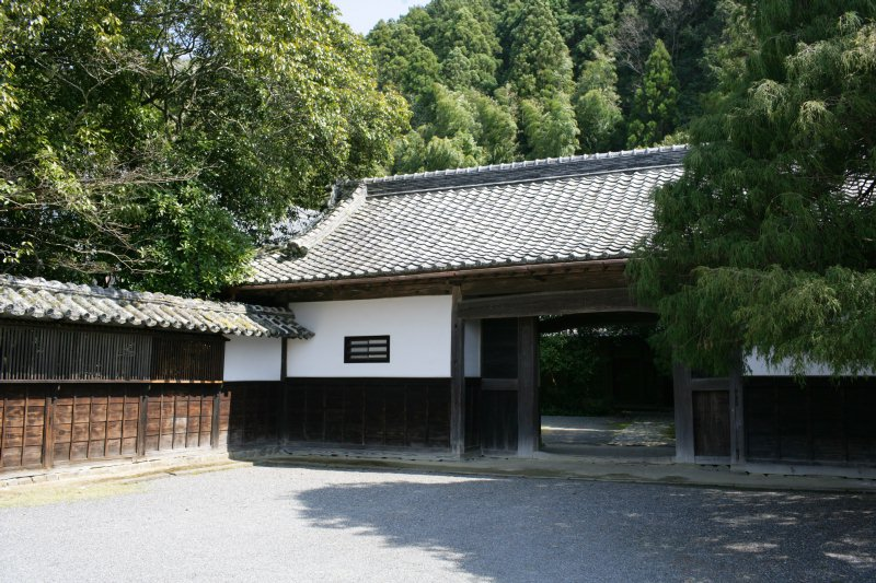 The entrance of the Shoya residence