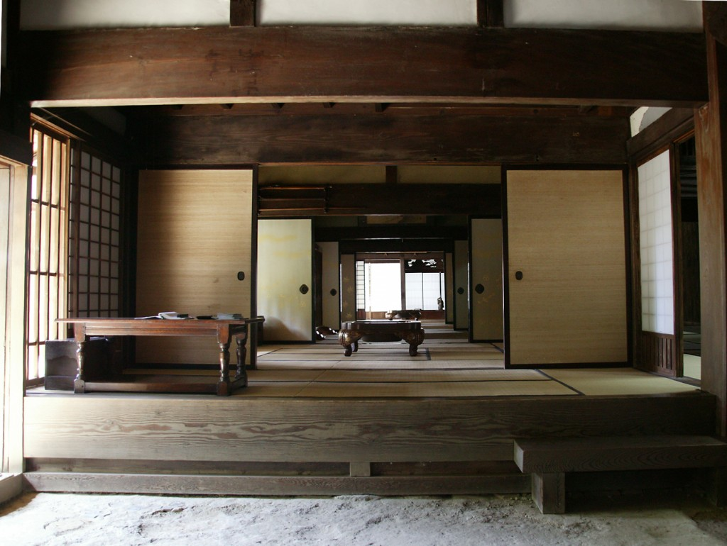 Tatami room constructed in middle Edo period